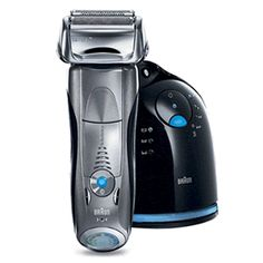 The Braun series 3 through to 7 is the best electric shaver for men and sensitive skin read the reviews here http://bestelectricshaversensitive.jimdo.com/