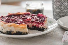 Vegaaninen juustokakku / Vegan cheesecake #raspberry #vegan #cheesecake Vegan Cheesecake, Raspberry, Desserts, Tailgate Desserts, Deserts, Dessert, Raspberries, Food Deserts