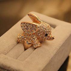 Cute little elephant ring.