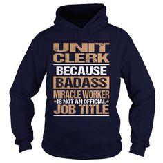 UNIT-CLERK T-Shirts, Hoodies (35.99$ ==► Order Here!)