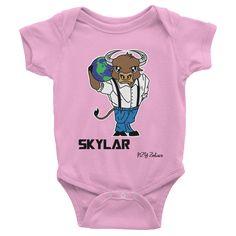 Skylar Ox Chinese Zodiac Baby Onesie – Stellar Names