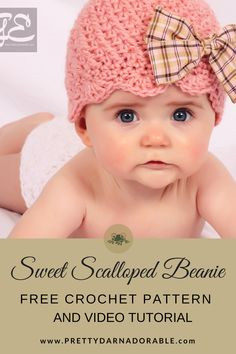 Sweet Scalloped Beanie