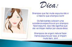 2° Passo: Lavar o cabelo   1- Primeiro, claro, escolha o tipo adequado de shampoo para a necessidade do seu cabelo. Ao contrário do que a maioria pensa, a hidratação começa no shampoo, e não no condicionador!   2- Para lavar, primeiro dê uma enxaguada boa no cabelo só com água, e depois passe o shampoo no couro cabeludo, nada de esfregar nas pontas, ou juntar todo o cabelo no alto da cabeça e esfregar! Oleosidade, caspa, sujeita e outros ficam concentrados no couro cabeludo, e não no…