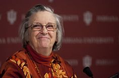 Elinor Ostrom, 2009 Nobel Prize in Economics for her study on the Commons