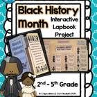 Use this lapbook with your 2nd-5th grade students to direct and anchor your classroom discussion about Black History Month!    *Both blackline AND ...