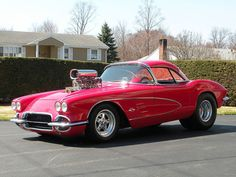 eBay Find of the Day: One Wildly Blown '61 Pro Street Corvette - CorvetteOnline.com