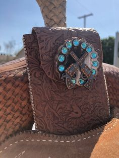 Custom cell phone holder for your saddle