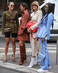 Trendy and cute casual outfits. Street Style Edgy, Street Chic, Casual Outfits, Fashion Outfits, Fashion Trends, Women's Fashion, Milan Fashion, Timeless Fashion, Street Fashion