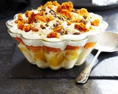 Lemon and honeycomb trifle... Mark Sargeant's lemon and honeycomb ...