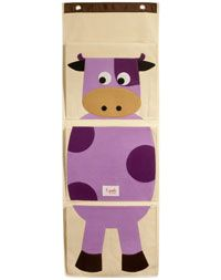 3 sprouts® Organic Wall Organizer - Cow.