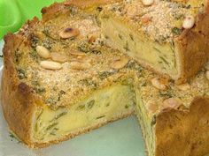 Recetas | Tarta de zucchini con cubierta crocante | Utilisima.com