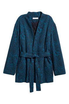 H&M jacquard kimono jacket