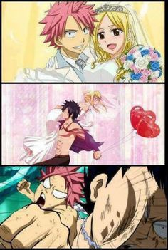 Nalu!! No graylu! No I will not allow it!! And Grastu is ok... when it's my BrOTP