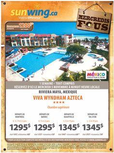 Rabais voyage du jours Riviera Maya, Couple, Mexico, D Day, Travel, Couples