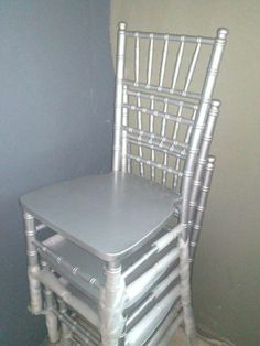 SILVER TIFFANY CHAIR FOR HIRE @ LOW PRICES | Inanda | Gumtree South Africa | 112118824 Tiffany Chair, Gumtree South Africa, Dining Chairs, Silver, Wedding, Furniture, Home Decor, Valentines Day Weddings, Decoration Home
