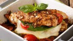 4 Amazing Keto Chicken Recipes For Dinner - mindbodygreen Best Dinner Recipes, Great Recipes, Keto Chicken, Chicken Recipes, Chicken Protein, Pollo Caprese, Mozzarella, Calorie Intake, Steak Recipes
