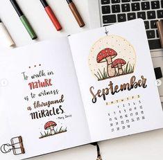50+ Stunning September Bullet Journal Ideas you must see!