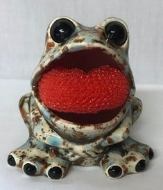 excited to share this item from my etsy shop frog sponge holder