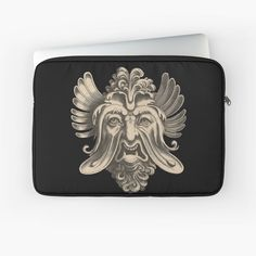 'Groteskology grotesque face tshirt ' Laptop Sleeve by Macbook Air Pro, Laptop Covers, Sleeve Designs, Back To Black, Laptop Sleeves, Gucci, Printed, Awesome, Face