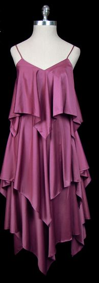 tired Halston dress at thefrock.com