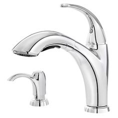 Aquasource Brushed Nickel Pull Out Kitchen Faucet 129 00
