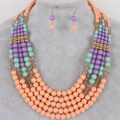 Beaded Jewelry Set Spring into summer with this beautiful beaded set. Jewelry
