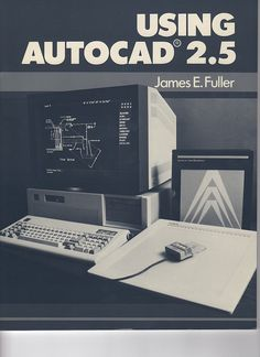 Autocad 2.5.  I used a version similar to this one, except I had to type in all my commands.
