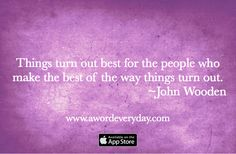 Make the best of every day. Get the app that brings intention and inspiration to your life daily. Install AWE from the App Store  http://itunes.apple.com/app/id969960040