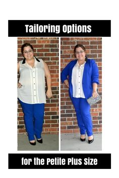 Tailoring options for the petite plus size on The Curvy Fashionista