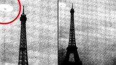 CIA libera fotografia extremamente secreta que mostra OVNIS passando próximo a torre eiffel ~ Sempre Questione