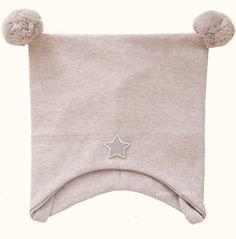 Kivat vårlue, beige med dusker og stjerne   DressMyKid.no - Barn og baby - Alltid gode tilbud Beige, Ash Beige