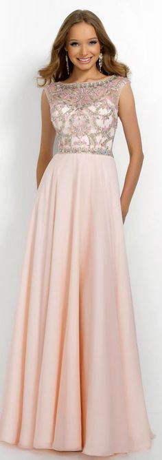 Gorgeous light pink gown