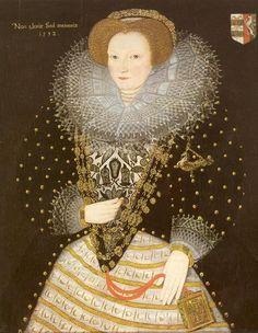 1592 Philippa Speke or Joan Portman by ? (location unknown to gogm) | Grand Ladies | gogm