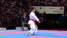 Final Female Kata. Sandy Scordo of France. 21st WKF World Karate Champio...