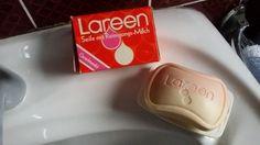 """""""Lareen"""" - Packung markiert mit Datum 24. 11. 1980 - ausgepackt am 10. 01. 2015"""
