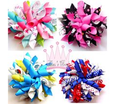 Hair bow instruction | Boutique Korker Hair Bow Instructions pdf by tiarasnbows on Etsy View ...