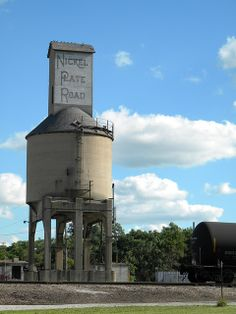 Coal tower located at the Norfolk & Southern train yards by Classic Frankfort.Com, via Flickr