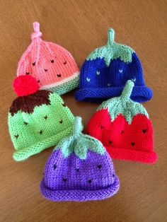Eclectic Styles of Preemie Hats