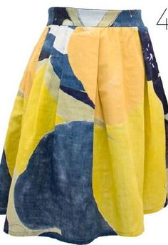 Nani Iro fabric skirt