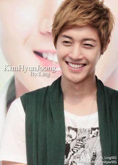 Kim Hyun Joong 김현중 ♡ smile ♡ adorable ♡ Kpop ♡ Kdrama ♡