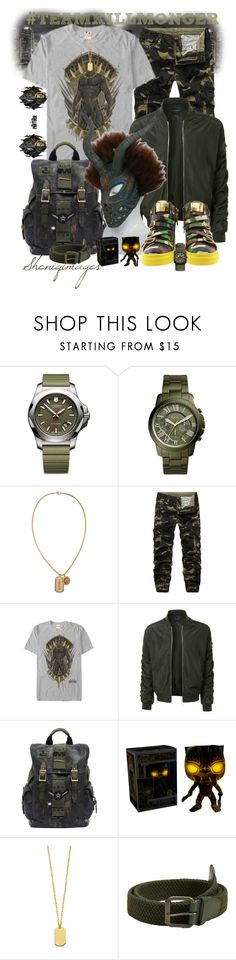 """#TEAMKILLMONGER by Sheniq"" by sheniq ❤ liked on Polyvore featuring Victorinox Swiss Army, FOSSIL, Versace, LE3NO, Ghurka, Giuseppe Zanotti, MANGO, Bell & Ross, men's fashion and menswear"