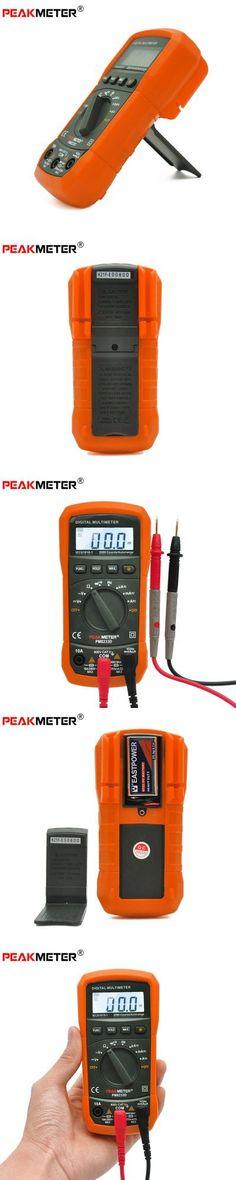PEAKMETER PM8233D Auto Manual Range Multimeter Digital AC DC Tester