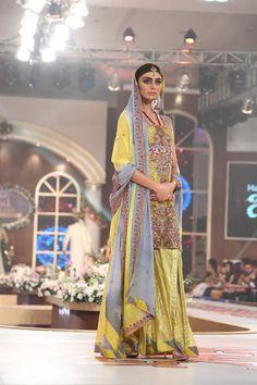 Arsalan Iqbal Dresses Bridal Couture Week 2015 Images