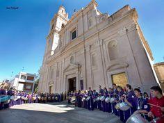 PASILLO DE TODAS LAS BANDAS A LOS HERMANOS MAYORES. DOMINGO DE RESURRECCIÓN L'ALCUDIA  ( VALENCIA )