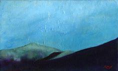 Mount Garfield Sunrise original painting
