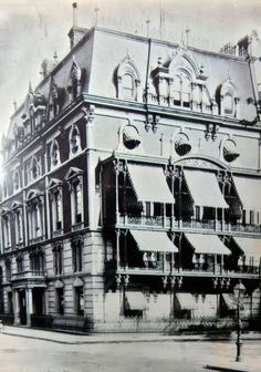 Leonard Jerome's New York Mansion on Madison Avenue.