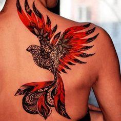 29 Amazing Phoenix Tattoo Ideas You Will Enjoy Tattoos Amazing Enjoy Ideas Phoenix Tattoo Tattoos Tattoo Girls, Girl Tattoos, Tattoos For Guys, Tattoos For Women, Neue Tattoos, Body Art Tattoos, Tribal Tattoos, Sleeve Tattoos, Form Tattoo