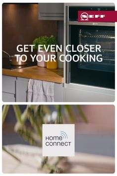 Looking for the latest kitchen must-have? Your search is over. NEFF Slide&Hide®, the only oven with a disappearing door, now comes with Home Connect. So, when you're busy creating your next showstopper, let Alexa do some of the work for you. Cool Kitchen Gadgets, Smart Kitchen, Kitchen Hacks, New Kitchen, Cool Kitchens, Kitchen Ideas, Rustic Kitchen, Kitchen Cabinets Decor, Kitchen Appliances