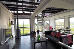 Cargo Container Homes Interiors   25 Shipping Container Homes & Structures Designed With an Urban Touch
