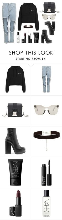 """""""Vetements x Christopher Kane x NARS"""" by baludna ❤ liked on Polyvore featuring Vetements, WearAll, Christopher Kane, Jil Sander and NARS Cosmetics"""